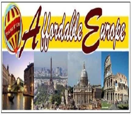 Europe Tours I Affordable Cheap Best Holiday And Vacation Tour - Europe tours packages