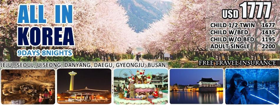 Jeju Island Tour Package From Seoul